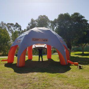 השכרת אוהל מתנפח 30 איש