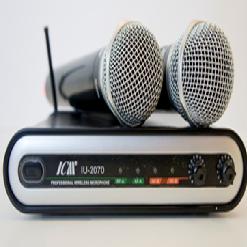 מיקרופונים אלחוטיים ICM-2070 PROXIMA