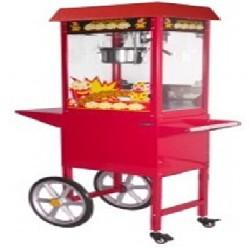 מכונת פופקורן על עגלה