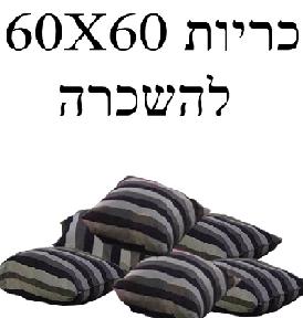 השכרת כריות 60X60